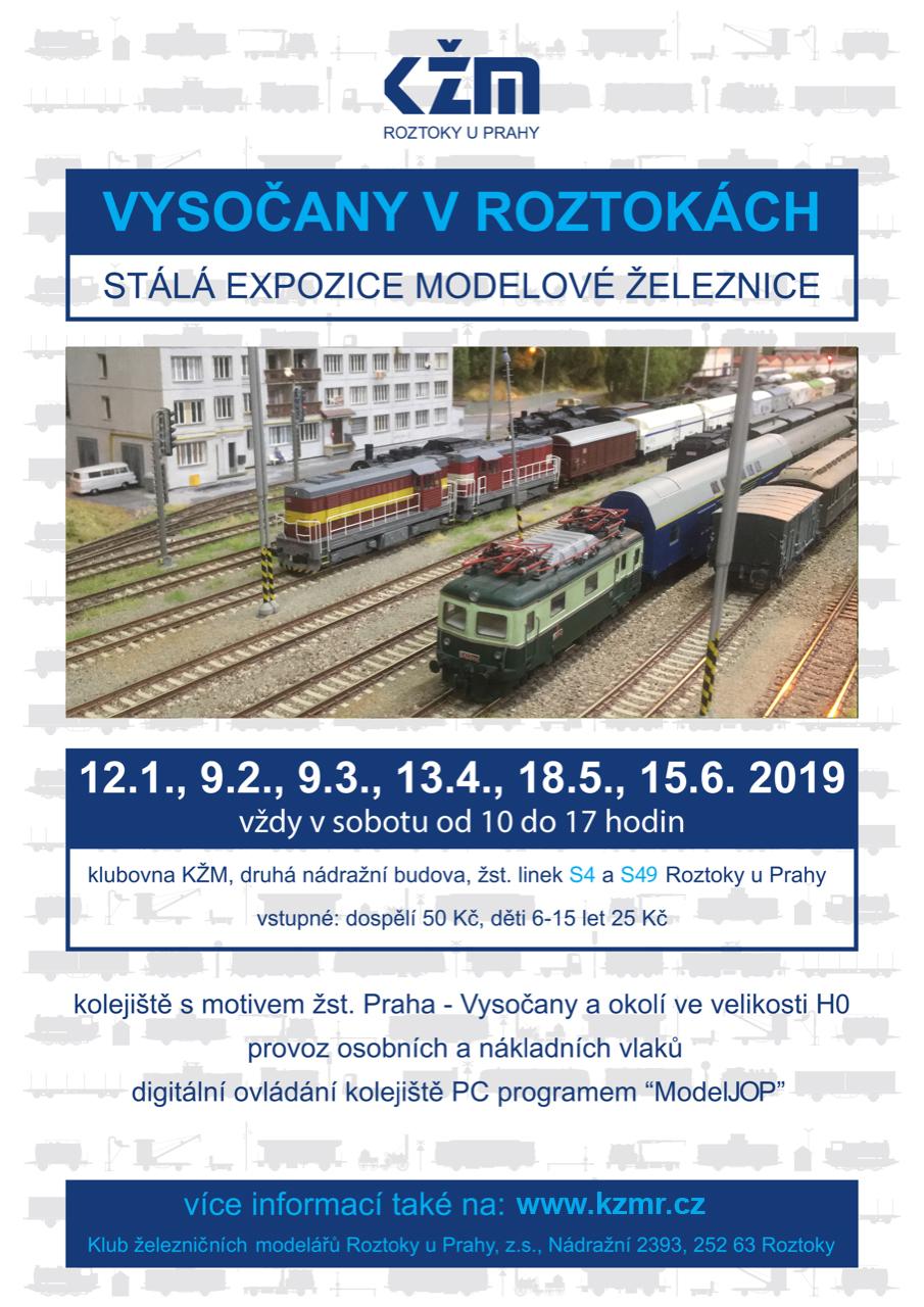 Vysočany v Roztokách - stálá expozice modelové železnice. Vždy v sobotu od  10 00 - 17 00 ... 37ecb061c72